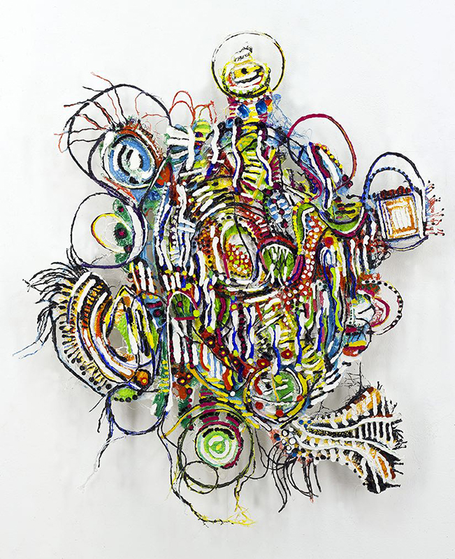 Roger Goldenberg's Visual Jazz Painting Gallery B, Paintings, Mythology, Universe