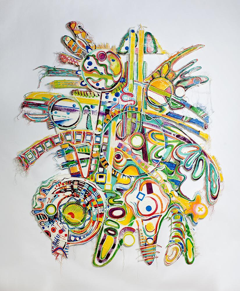 Roger Goldenberg's Visual Jazz Painting Gallery D Love, Mythology, Seasons